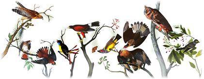 John James Audubon'un 226. doğum günü