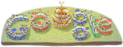 Google Logo: Start of Turkish Youth Week - 2012