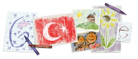 23 Nisan Ulusal Egemenlik ve Çocuk Bayramı - Children's Day :Turkey