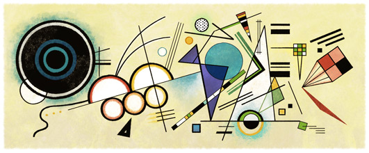 Wassily Kandinsky'nin 148. Do�um G�n�