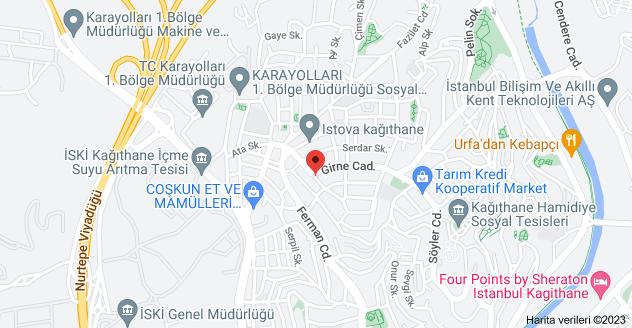 Hamidiye Mahallesi, Dirlik Sk. No:4, 34408 Kağıthane/İstanbul haritası