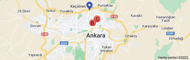 keçiören bosch servisi haritası