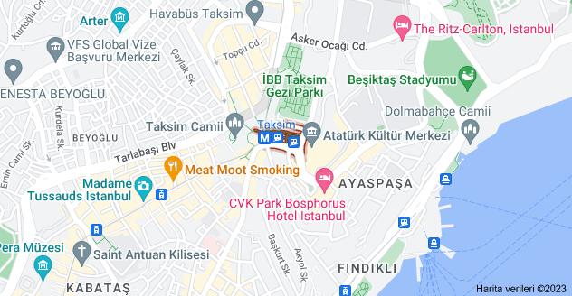 Gümüşsuyu Mahallesi, Tak-ı Zafer Cd., 34437 Beyoğlu/İstanbul haritası